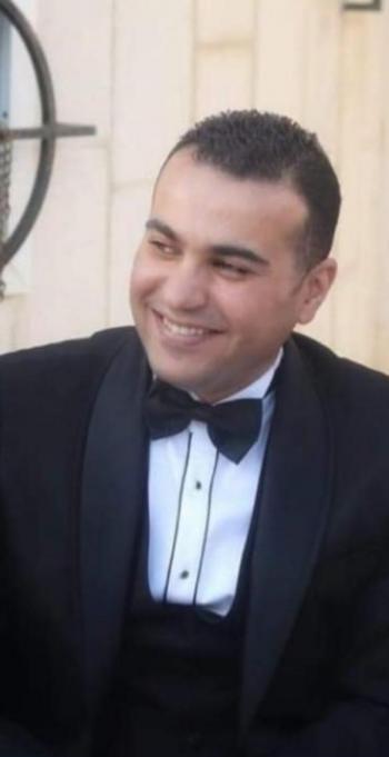 الزميلان وائل جرايشة وبتول حبيبة  ..  مبارك الزفاف
