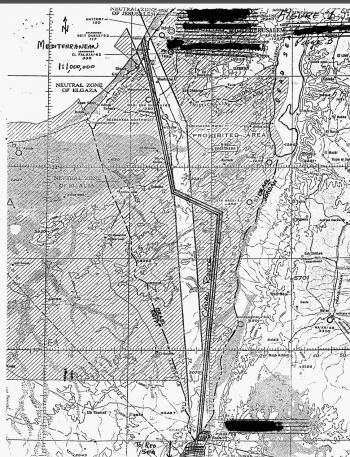 الولايات المتحدة درست خطة نووية لشق قناة بين البحر الميت والبحر المتوسط