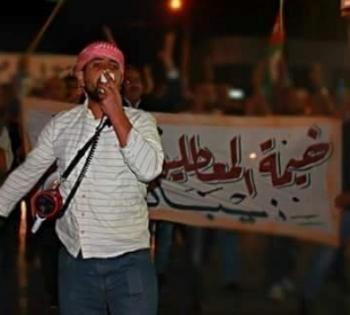 الأمن ينفي اضراب الهواوشة عن الطعام ..  ومسيرة في ذيبان