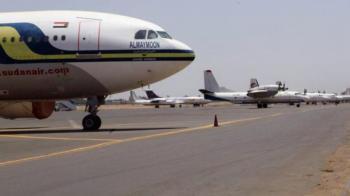 اعادة فتح مطار الخرطوم بعد يوم من إغلاقه