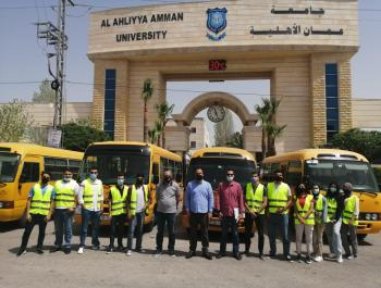 عمان الأهلية تطلق حملة خيرية لدعم الأسر العفيفة