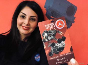 من هي بطلة مهمة ناسا للمريخ؟