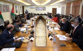 وزير التخطيط يبحث مع سفراء مبادرة فريق أوروبا أولويات التعاون