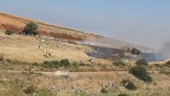 لبنانيون يجتازون الحدود ..  والجيش الاسرائيلي يفتح النار