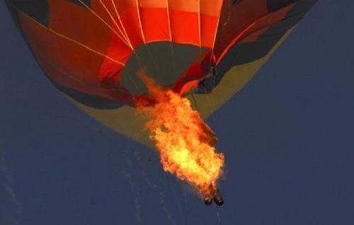 مقتل 16 شخصا بسقوط منطاد في تكساس (فيديو)