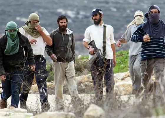 مستوطنون يحاولون احراق مسجد التوانة في الخليل