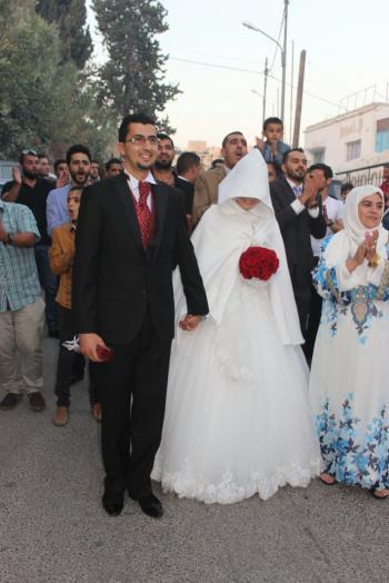 مهند العناسوه و آيه غشيم زفاف مبارك