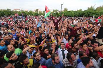 زين تحتفل بعيد الاستقلال (صور)