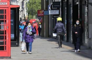 الصحة البريطانية: إنخفاض الإصابات وارتفاع الوفيات بكورونا