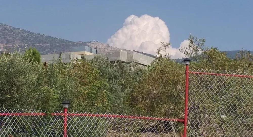 دوي انفجار في لبنان