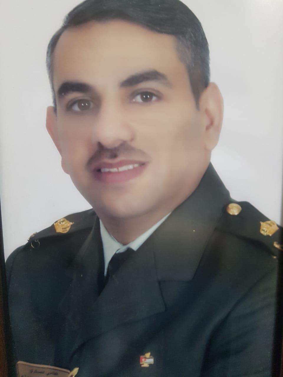 القاضي العسكري الرائد خالد الخزاعلة مبارك الماجستير