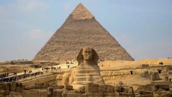حقيقة العثور على أبو هول جديد بالقرب من الأهرامات