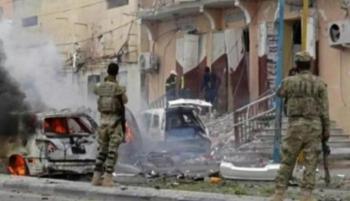 قبيل انطلاق الدوري ..  قتلى في تفجير حافلة فريق كرة قدم صومالي