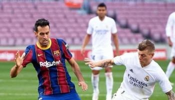 كرة خاصة لكلاسيكو ريال مدريد ضد برشلونة