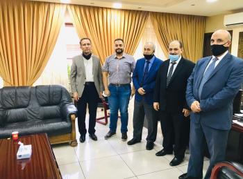 لقاء تمهيدي بين المعهد الضريبي واتحاد المدربين العرب