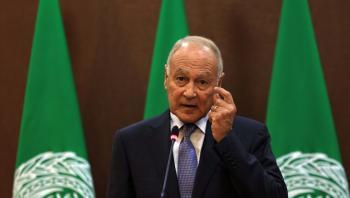 أمين عام جامعة الدول العربية يلتقي وفدا من المعارضة السورية