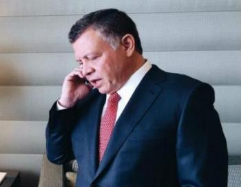 الملك يتلقى اتصالا هاتفيا من رئيس كازاخستان