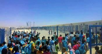 التربية: دوام الطلبة السوريين في مخيم الزعتري الأحد المقبل