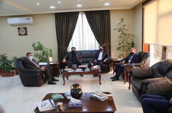 رئيس الزيتونة يستقبل النائبين البداوي والعدوان ونائب مجلس العاصمة لتعزيز التعاون