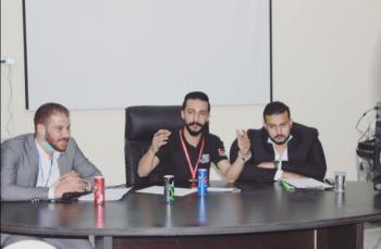 جلسة توعوية للانتخابات في اربد