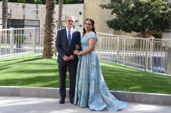 خطوبة المهندس فوزي مسعد على فاطمة المغربي