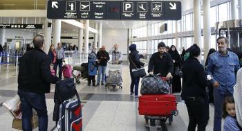 حركة الملاحة الجوية تعود إلى مطار بيروت