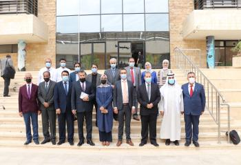 لقاء تعريفي بالهيئة الدولية الألمانية للتبادل الثقافي في عمان العربية