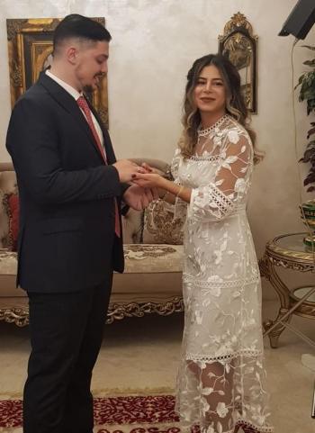 خطوبة فارس فوزي مسعد وسارة عماد الحنبلي