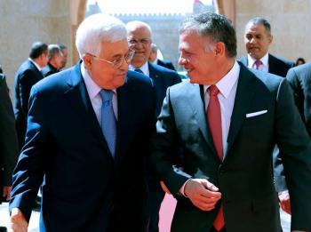 الملك يبحث مع عباس الأحد التطورات على الساحة الفلسطينية