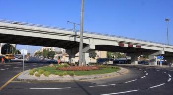 اغلاق جزئي لجسر الثامن الجمعة