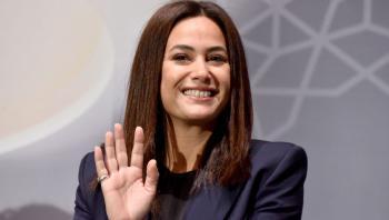 الفنانة التونسية هند صبري تتسلم شارة وشهادة نوبل للسلام