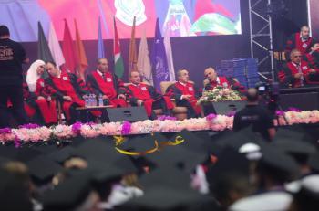 الكباريتي يرعى احتفال عمان الاهلية بتخريج طلبتها الرابع والعشرين