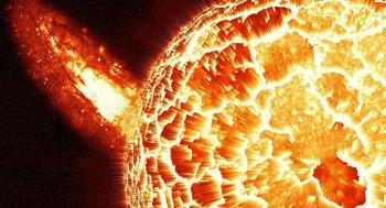 الأقمار الصناعية تسجل أكبر توهج شمسي