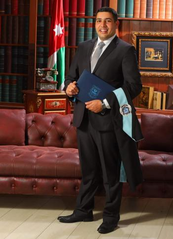يحيى اللوزي  ..  مبارك التخرج