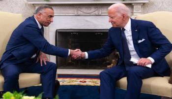 الكاظمي: علاقة بغداد وواشنطن ستتحول لمرحلة جديدة