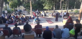 انطلاق فعالية مبادرة الحكواتي في الحديقة الثقافية برأس العين