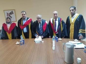 مبارك الدكتوراه لفيصل السعود