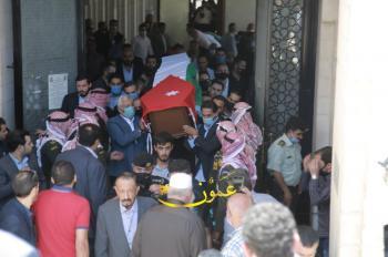 تشييع جثمان مدير المخابرات الأسبق الشوبكي