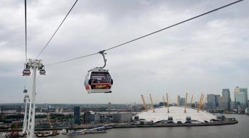 تلفريك لندن ..  الوجهة السياحية الناجية من إغلاق كورونا