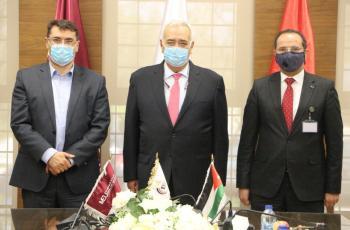 جامعة الشرق الأوسط  MEU توقع مذكرة تعاون مع كابيتال بنك