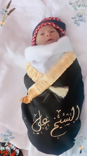 احمد الزعبي  ..  مبارك المولود الجديد