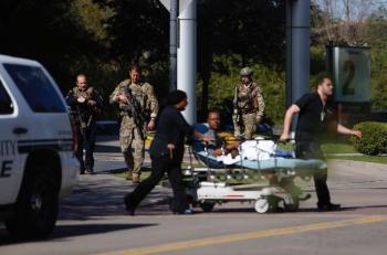 امريكا: إطلاق نار في مستشفى وإخلاء المرضى (صور)