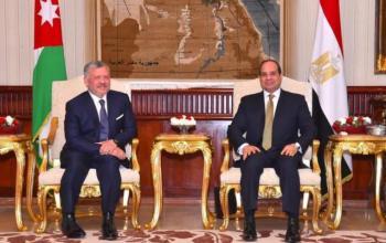 الملك يهنئ الرئيس المصري بذكرى ثورة 23 تموز