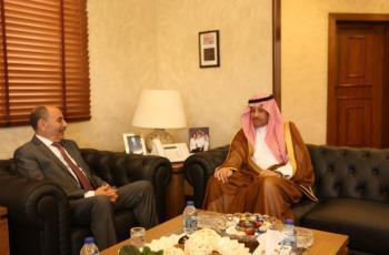 العموش والسديري يؤكدان ضرورة تعزيز التعاون الاردني السعودي