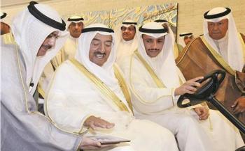 ماذا قال أمير الكويت لمرزوق الغانم بعد موقفه من الوفد الإسرائيلي؟