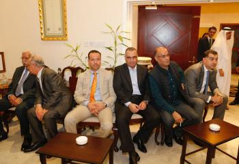 السفير الأردني بالإمارات يولم على شرف فيصل الفايز