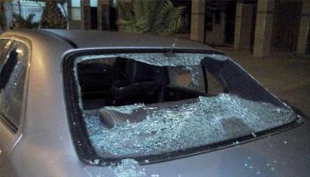 كشف ملابسات تكسير سيارات مواطنين في ياجوز