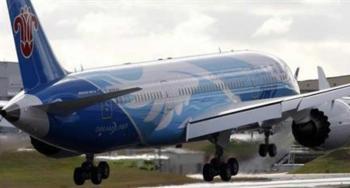 لوحة تسقط من طائرة وتحطم سيارة في اليابان