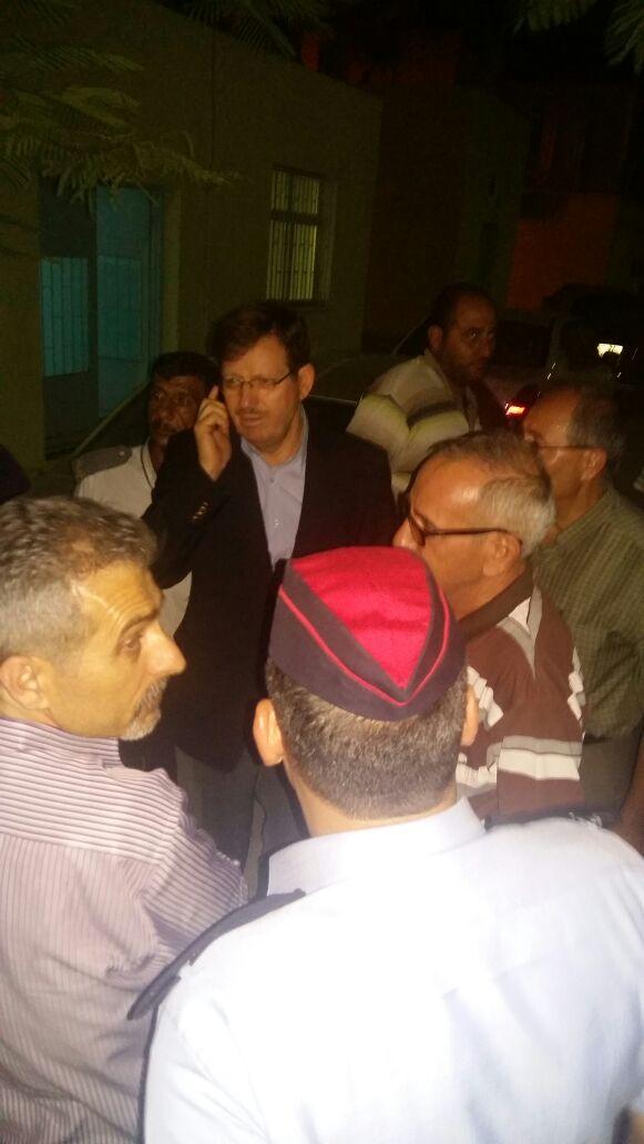 الشياب يزور مستشفى معاذ بن جبل