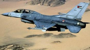 سقوط طائرة أردنية ونجاة قائدها في نجران